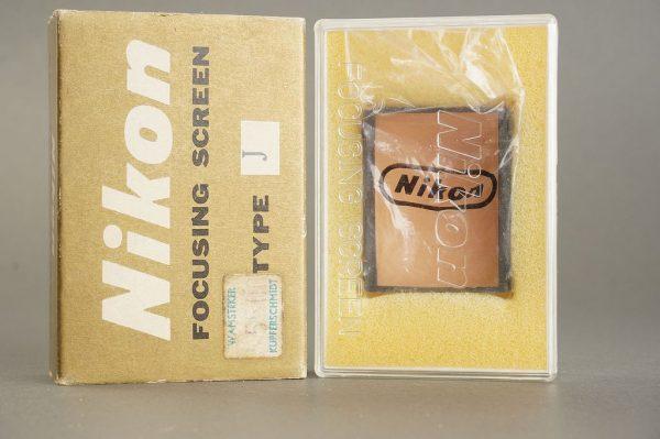 Nikon F / F2 focusing screen Type K, in case, Boxed (In J Box)