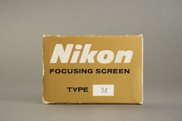 Nikon F / F2 focusing screen Type M, in case, boxed