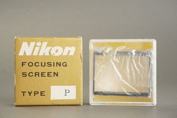 Nikon F / F2 focusing screen Type P, in case, boxed