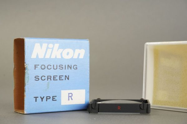 Nikon F / F2 focusing screen Type R, in case, boxed