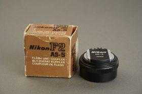 Nikon flash coupler AS-5, Boxed