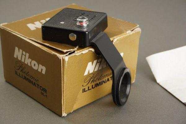 Nikon Photomic illuminator DL-1, Boxed