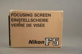 Nikon F5 focusing screen E, Boxed