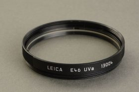 Leica filter Uva E46, 13004, black