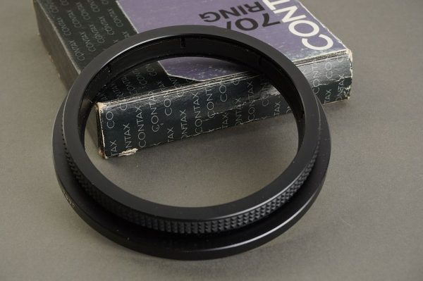 Contax 70/86 ring Boxed