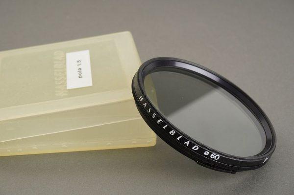 Hasselblad 60 filter PL Polarizing, in case
