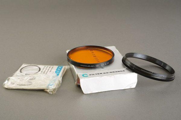 Hasselblad 63 filter Orange, BOXED, + retaining ring