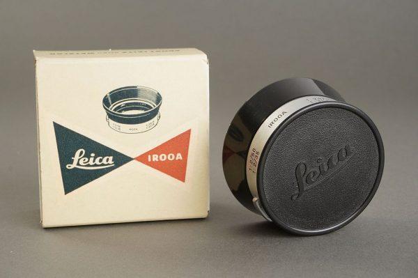 Leica Leitz IROOA lens hood, BOXED