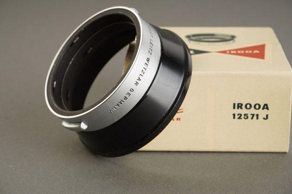 Leica Leitz IROOA lens hood, with box