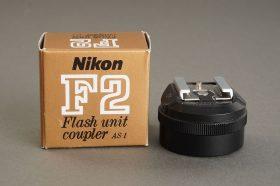 Nikon flash coupler AS-1, Boxed