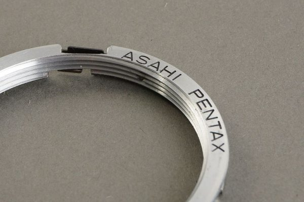 Asahi Pentax M42 to PK mount adapter. Genuine adapter