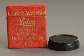 Leica Leitz green filter FIQOS A36. Boxed