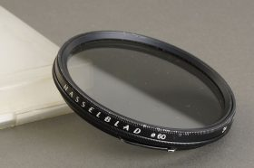 Hasselblad 60 PL polarizer filter, in case