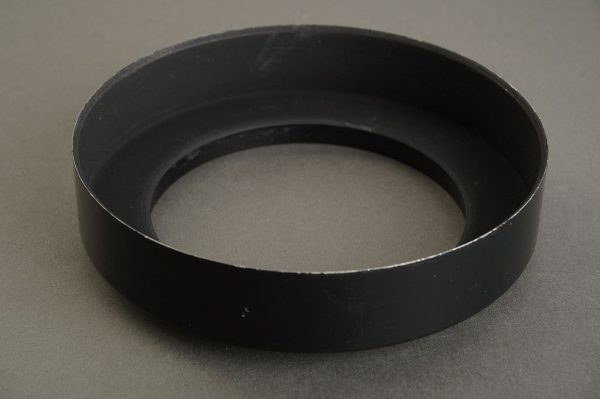 Hasselblad shade for 50mm Distagon, 63mm screw in