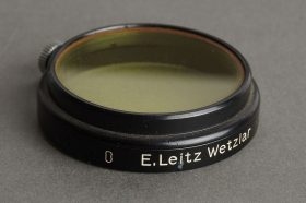 Leica Leitz 0 filter Yellow, A36 clamp on (black)
