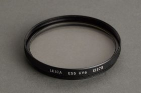 Leica Leitz filter Uva 13373, black, E55