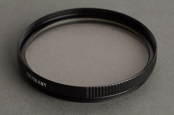 Leica Leitz filter Uva 13373, black, E55