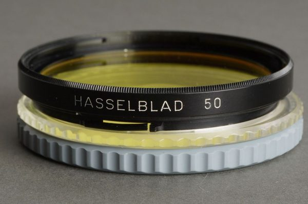 Hasselblad 50 filter Yellow Y 1.5, with caps