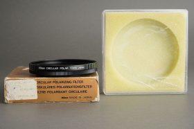 Nikon filter Polarizing 72mm screw in, BOXED