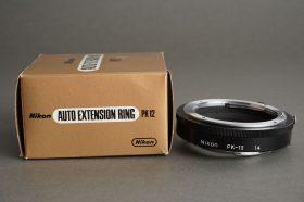 Nikon auto extension ring PK-12, Boxed