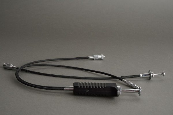 Nikon double cable release lot of 2: AR-4 + AR-2