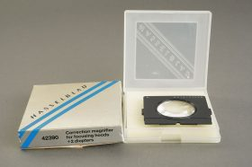 Hasselblad diopter +2, 42390, for modern version focusing hood, BOXED