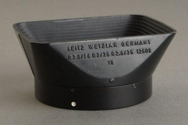 Leica Leitz 12509 lens hood for Elmarit-R 2.8 / 28mm lens
