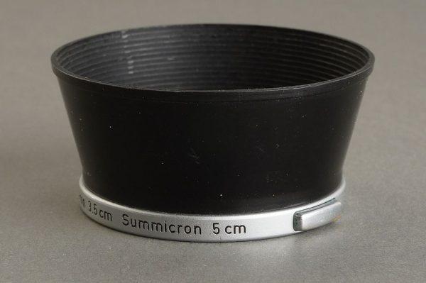 Leica Leitz lens hood for Summaron 3.5cm and Summicron 5cm