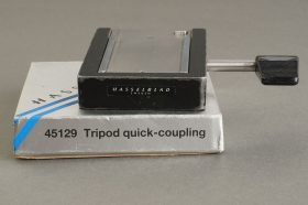 Hasselblad Tripod quick coupling plate 45129, Boxed