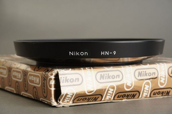 Nikon lens hood HN-9, BOXED for Nikkor auto 20mm f/3.5 and PC-Nikkor 28mm f/4