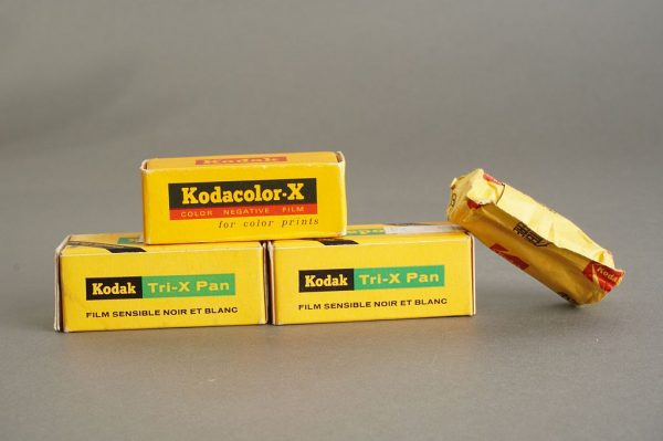 4 rolls of KODAK 127 film, expired, including Tri-X pan