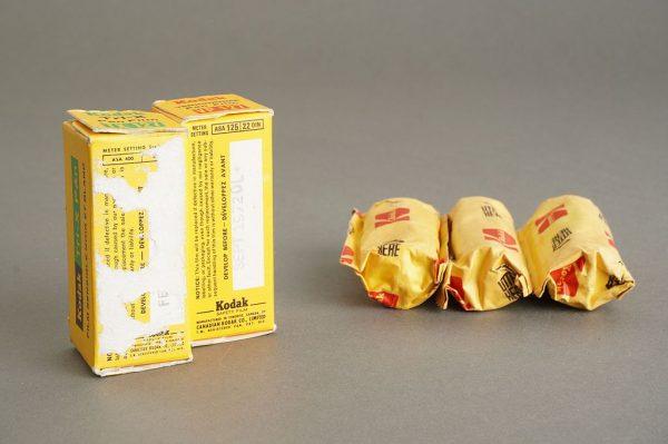 5 rolls of KODAK 127 film, expired, including Tri-X pan