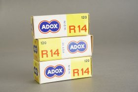 3 rolls of ADOX R14 120 film, Hard to find and very expired, KB14 emulsion