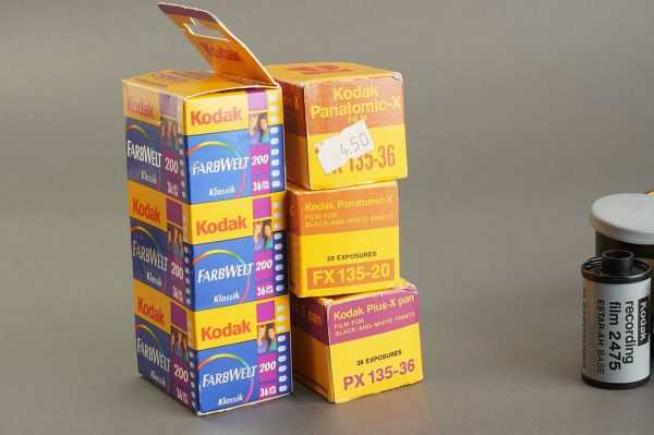 Lot of 10x expired KODAK 135 film. Various expired, some hard to find films. outdated