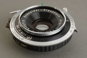 Schneider Angulon 6.8 / 120mm lens in shutter