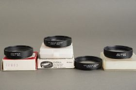 Leica Leitz Elpro 1 +2 + 3 + 4 for 2/50 Summicron-R, two boxed