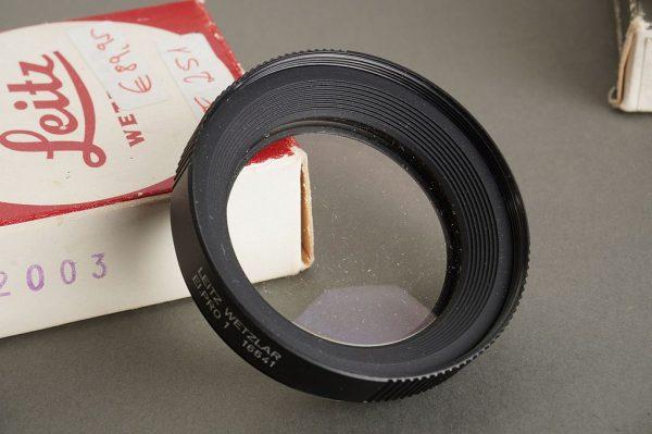 Leica Leitz Elpro 1 +2 + 3 + 4 for 2/50 Summicron-R, two boxed