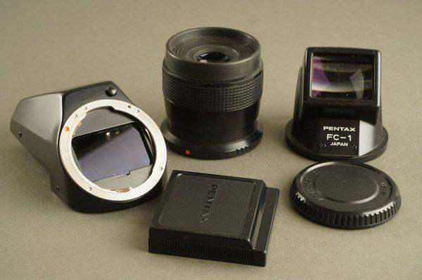Pentax LX finder kit: FB-1 + FC-1 + FD-1