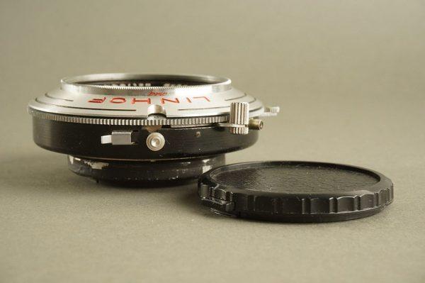 Linhof selected Schneider Angulon 6.8 / 120mm Technika lens in shutter