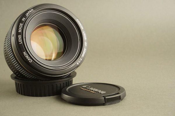 Canon Lens EF 50mm 1:1.4 Ultrasonic