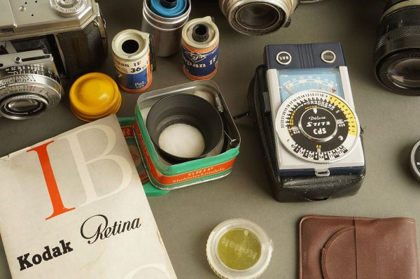 Kodak Retina IIIS + Ia with nice quantity of accessoires. As found