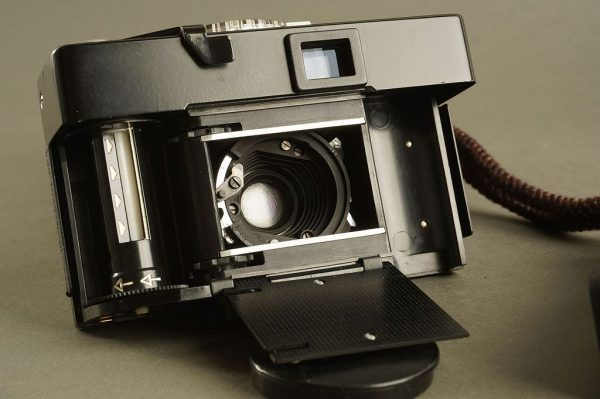 Rollei 35 B camera with Triotar 40mm 1:3.5 lens
