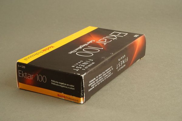 Kodak Ektar 100, 5x rolls of 120 film. Expired 11/2019