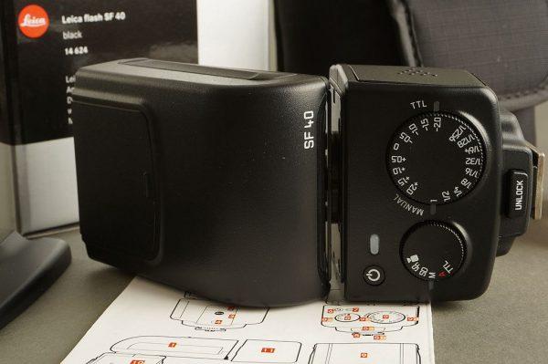 Leica flash 14624 SF-40, black, BOXED