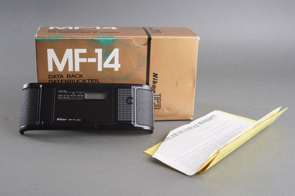 Nikon MF-14 data back for Nikon F3, Boxed