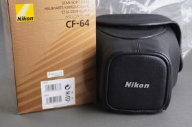 Nikon F6 semi soft case CF-64, BOXED