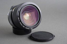 Minolta MD Zoom 1:3.5 / 35-70mm macro lens