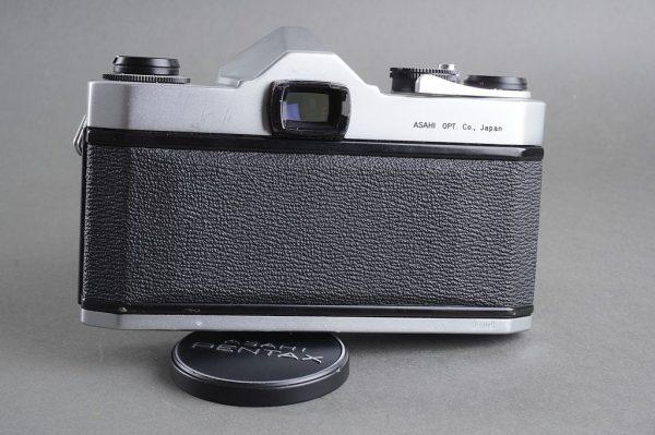 Asahi Pentaxx SL camera + Super-Takumar 1:2 / 55mm lens
