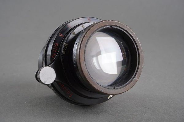 Carl Zeiss Jena Tele-Tessar 6.3 / 18cm lens in focus mount. A very interesting oldlens