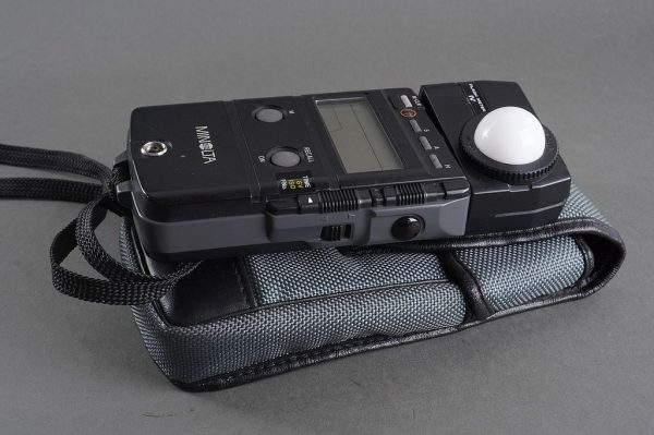 Minolota Flash Meter IV in pouch